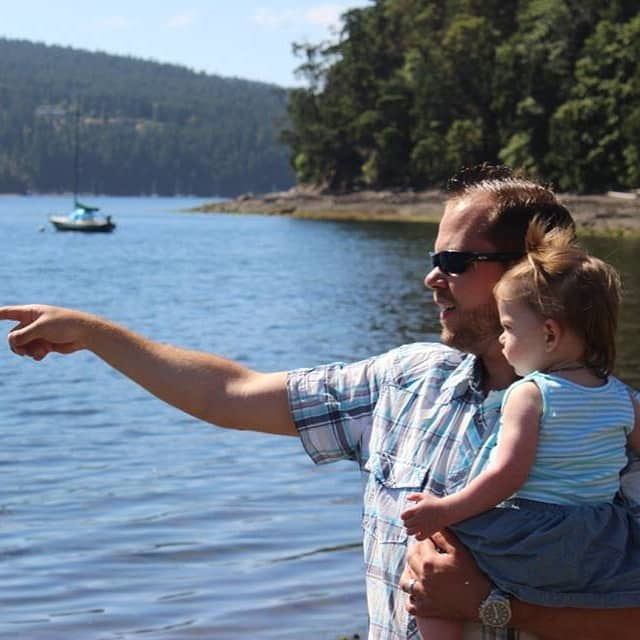 What is it that I #CantLiveWithout? These two! It may be cliché, but it's true! They are my everything! #blissphotoaday #vanderschaaffamtrip #canadianblogger #shuswap @blissdomcanada