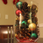 Easy Christmas Centrepiece