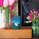 DIY Stained Mason Jars