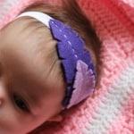 DIY Baby Feather Headband