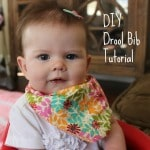 DIY Baby Drool Bib