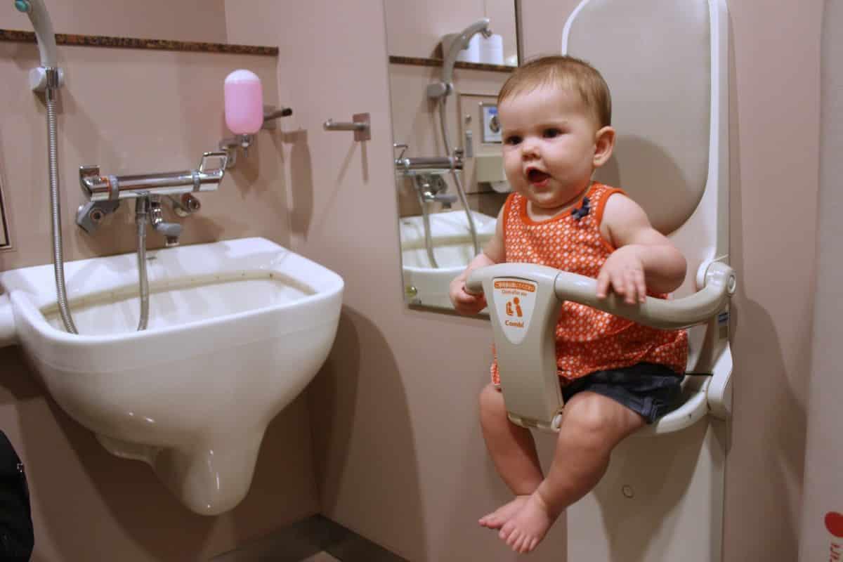 Adorable 60 Bathroom Stall Baby Holder Design Ideas Of