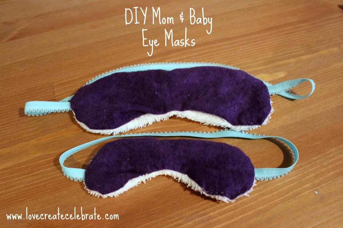 Diy Eye Mask Love Create Celebrate