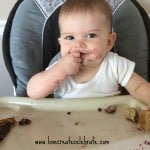 First Thoughts on Baby Led Weaning