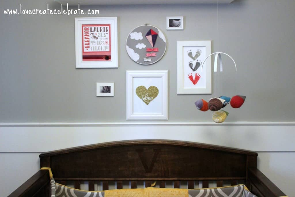 Baby Girl Gallery Wall