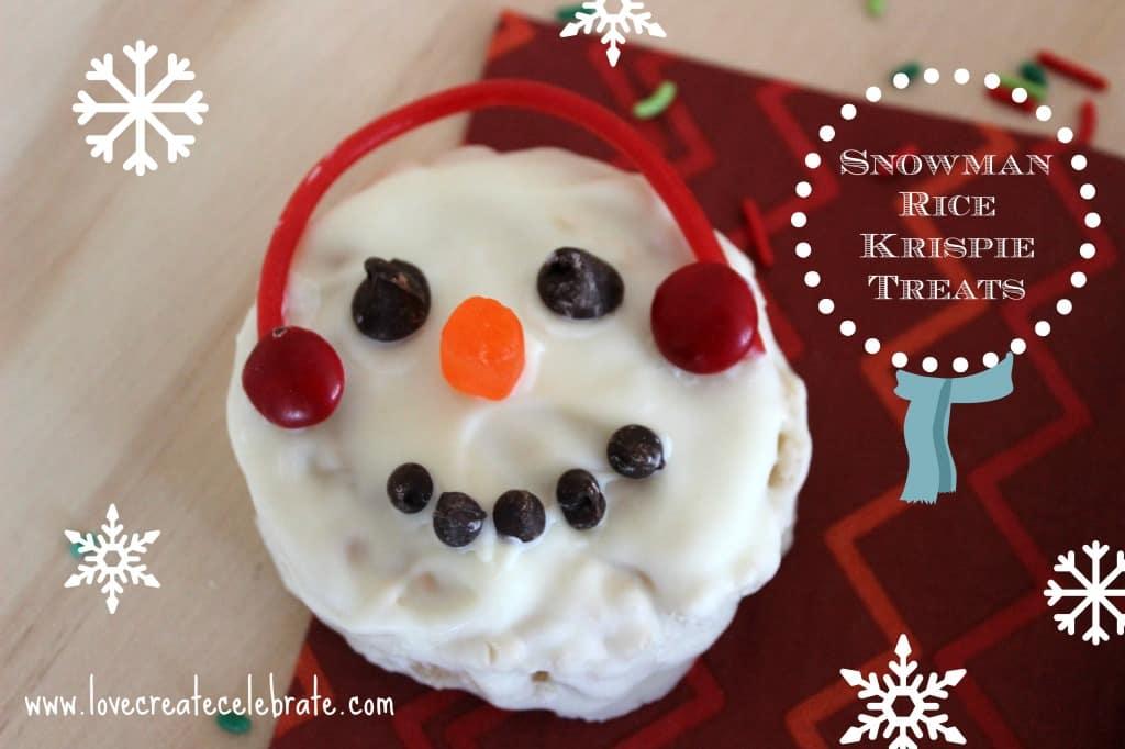 Delicious Snowman Treats