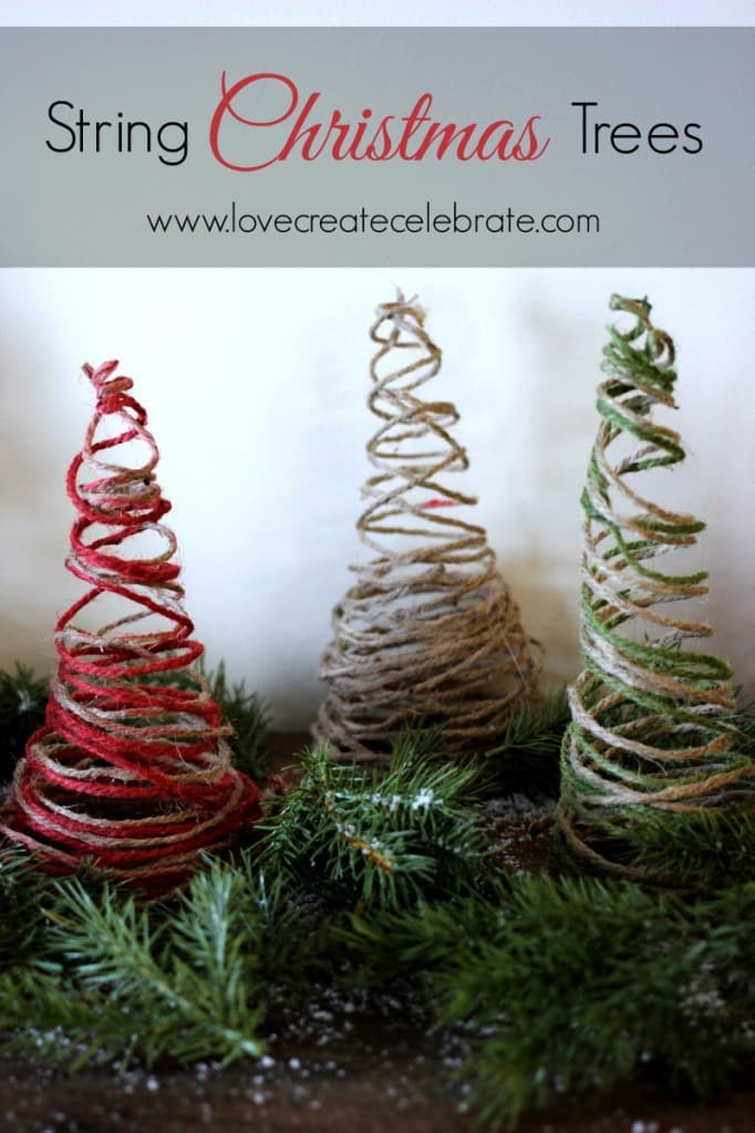 Learn how to make simple Christmas tree decor for your home.