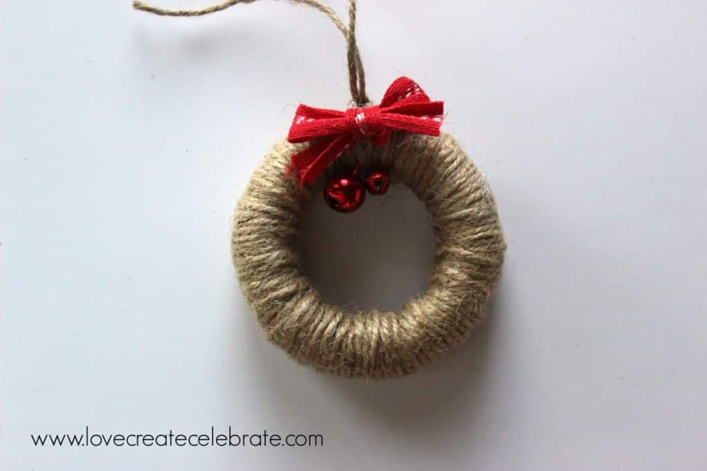 Wreath ornament tutorial