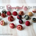 DIY Ornament Push Pins