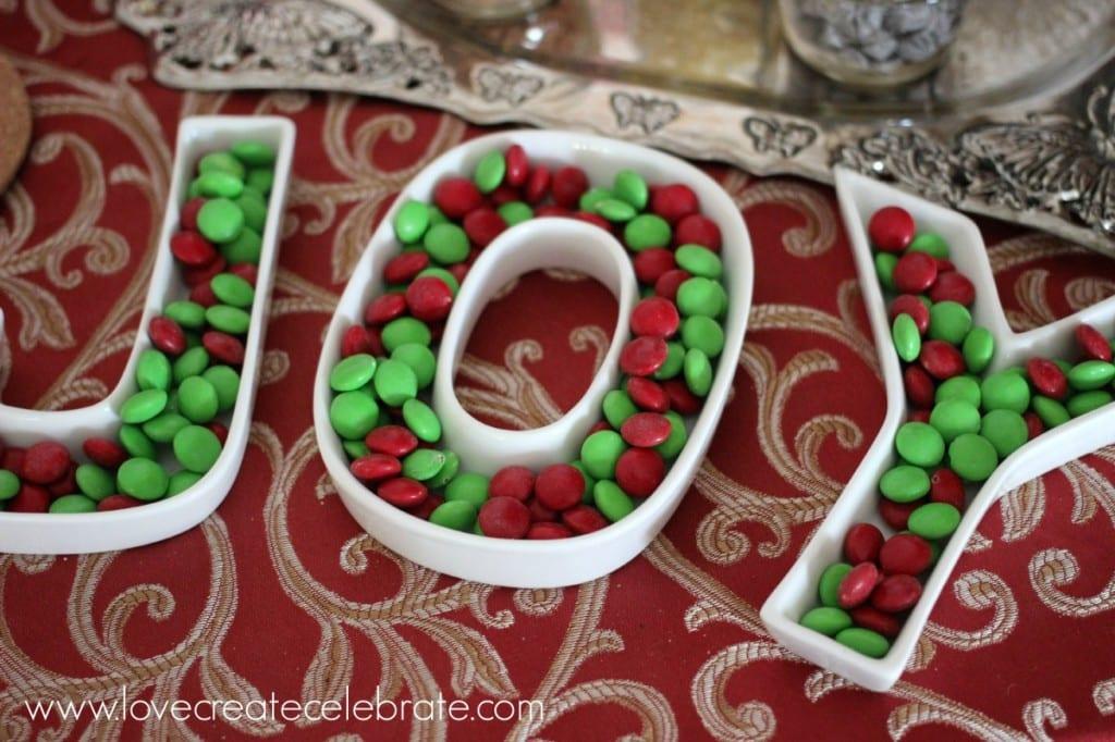 Festive chocolates