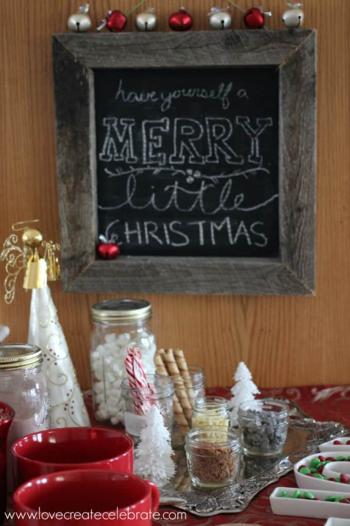 A Red, Gold, & Burlap Christmas Home Tour