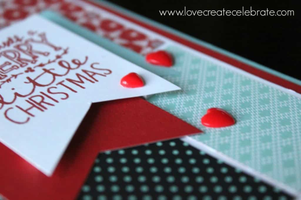 Scrapbooking Christmas Card