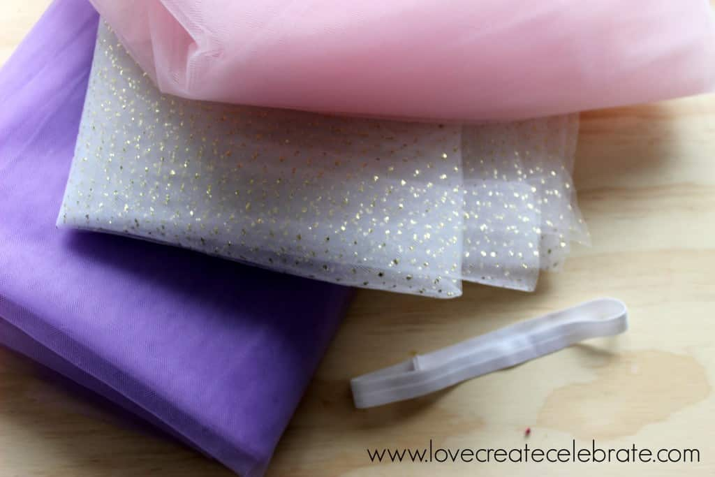Tulle for the baby tutu
