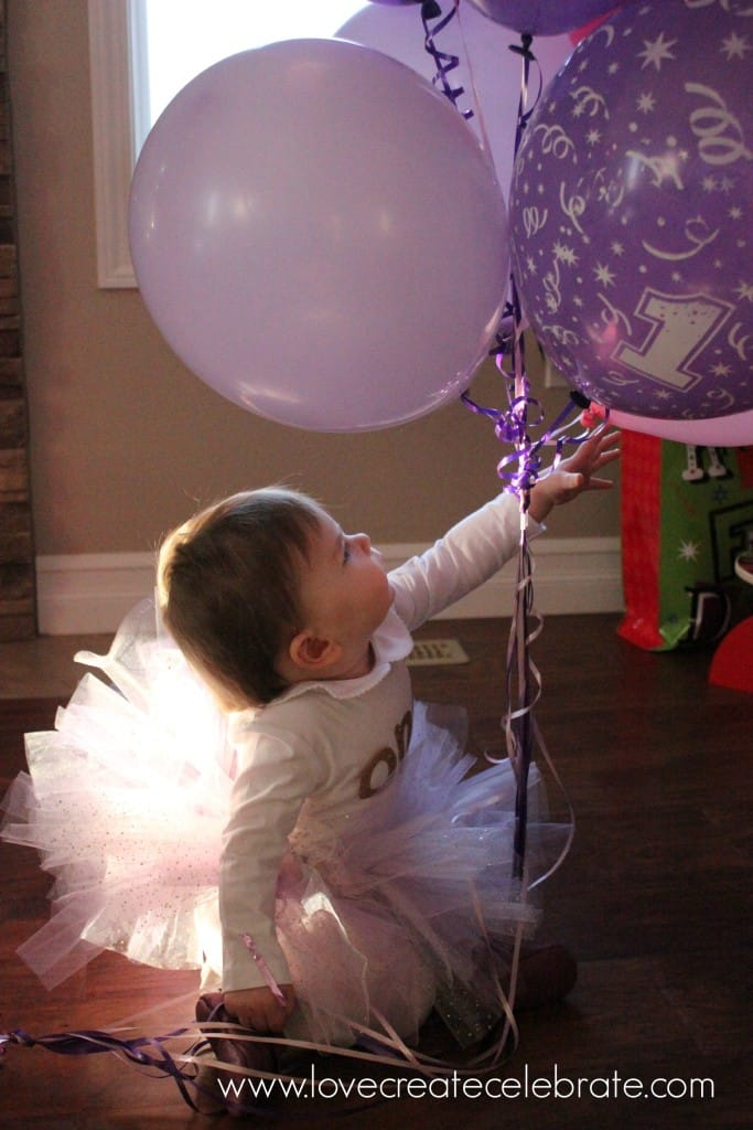 Festive first birthday tutu