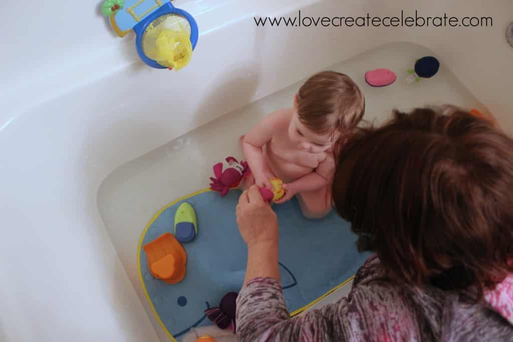 How Bath Time Builds Communication Skills