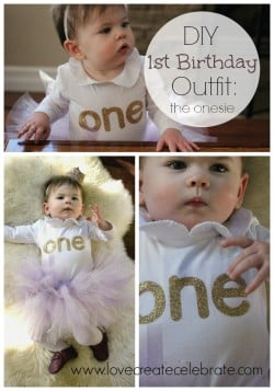 DIY Birthday Onesie