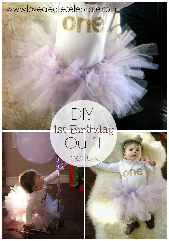 DIY First Birthday Outfit