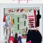 Hair Bow and Headband Organizer