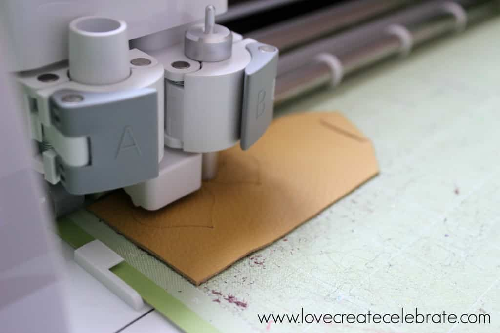 Cut leather with the Cricut Explore