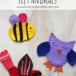 Whimsical Felt Animals