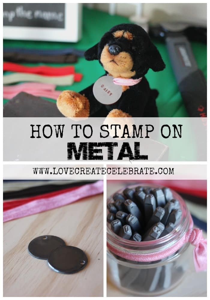 How to Stamp on Metal