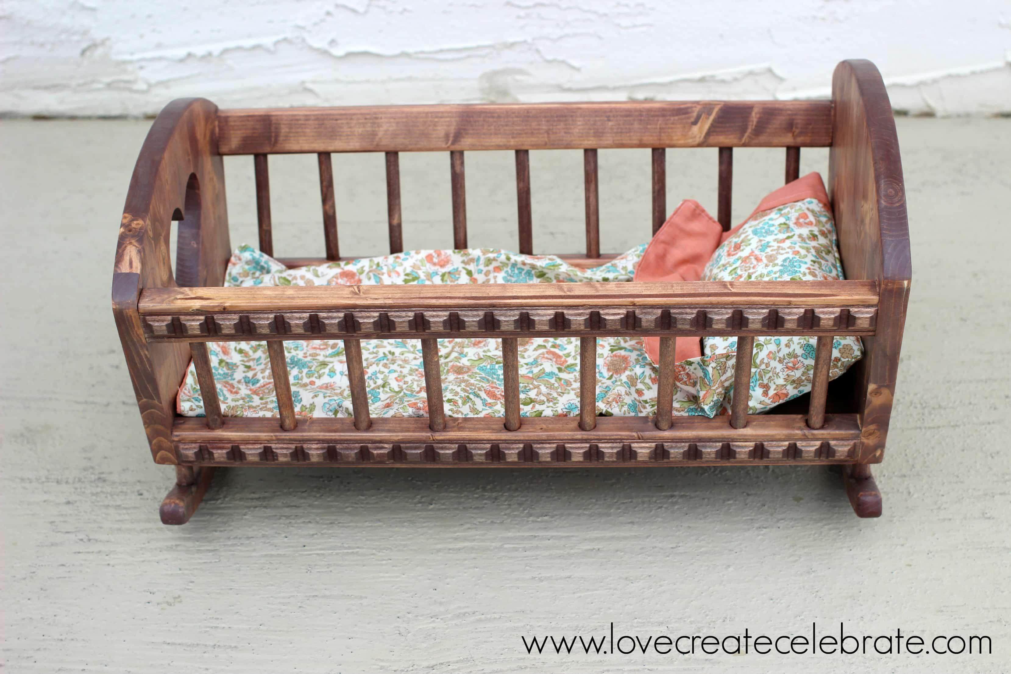 Baby Doll S Crib Love Create Celebrate