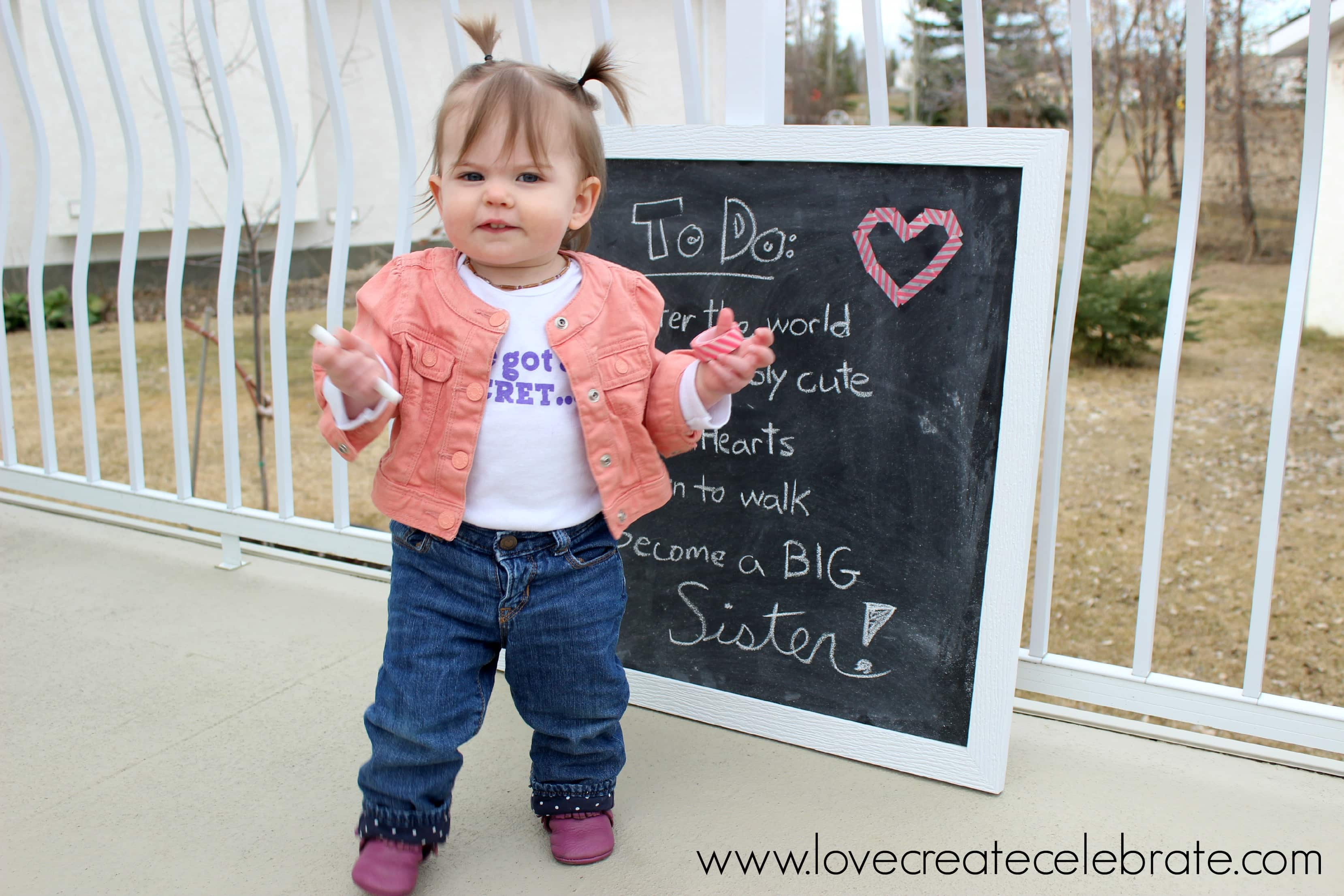 Second Baby Announcement Love Create Celebrate – Second Baby Announcement