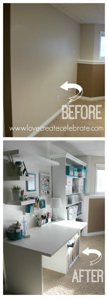 Custom Craft Space Before and After