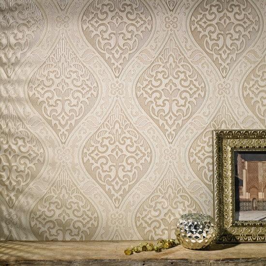 Master Bedroom Inspiration Board - Graham and Brown wallpaper