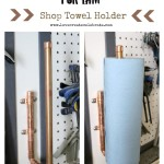 Shop Towel Holder [for Him]