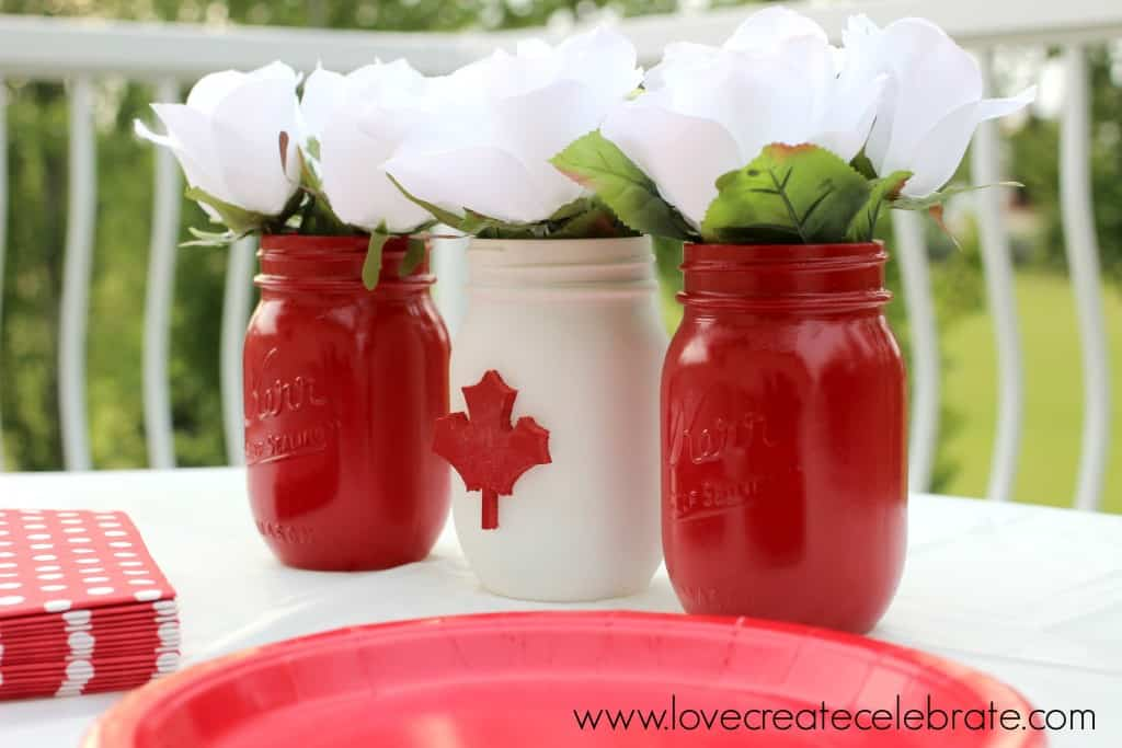 Canada Day Centerpiece