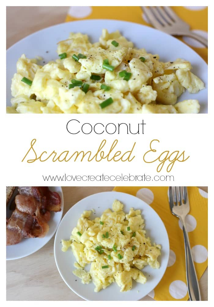 Coconut Scrambled Eggs