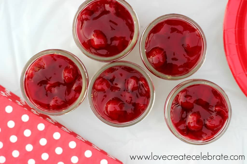 No Bake Cherry Cheese Cake