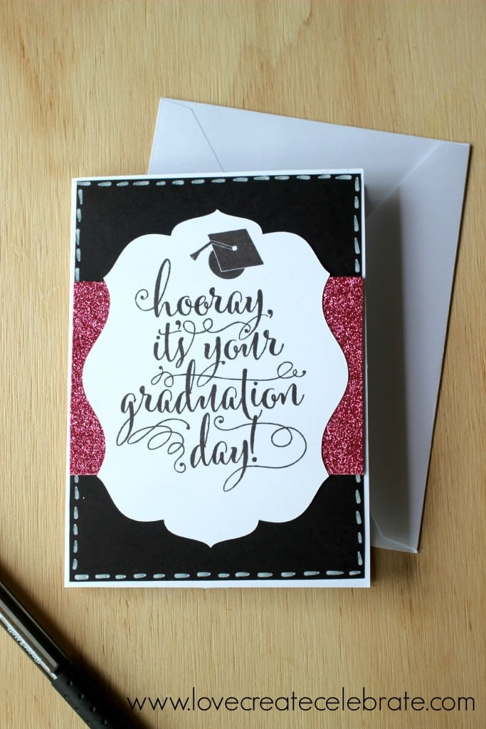 See how to make this homemade graduation card in this simple tutorial.