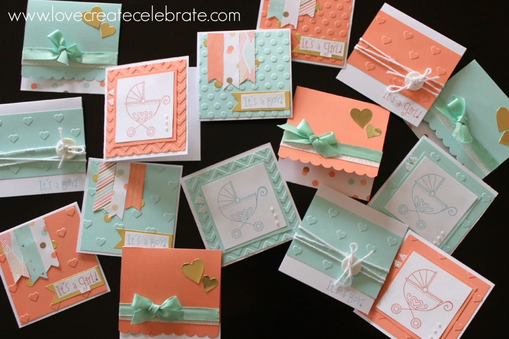 CTMH Baby Cards