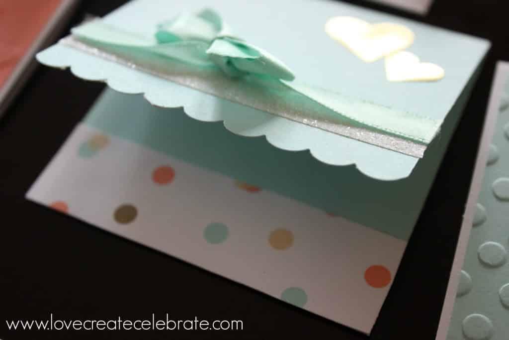 Scrapbook Baby Cards