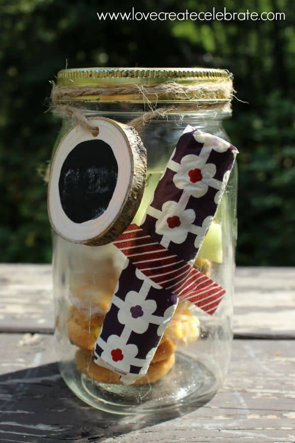 Mason Jar Decorated