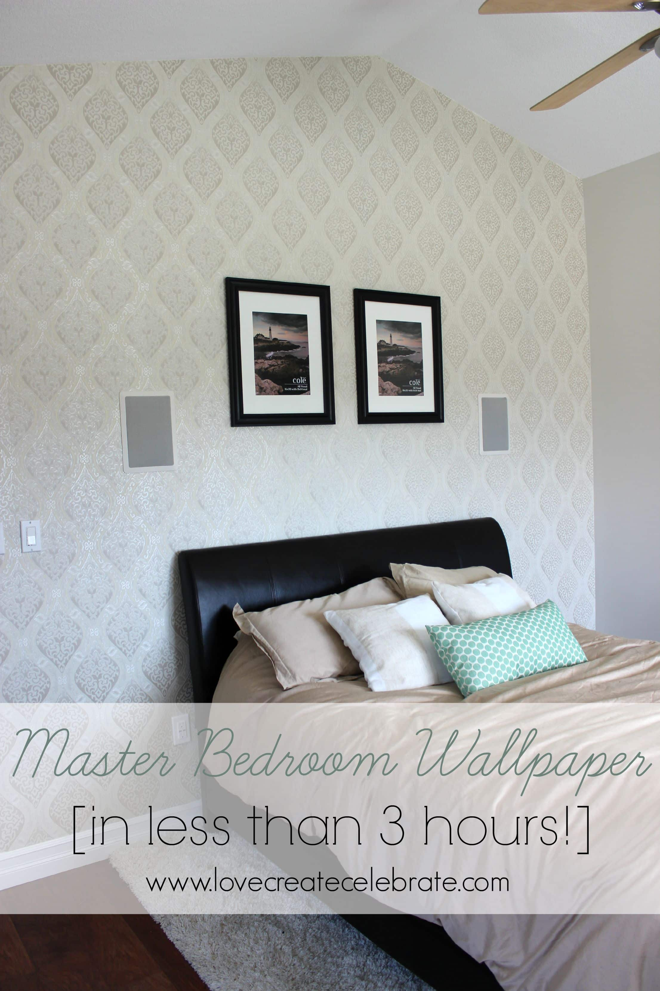 Master Bedroom Wallpaper Title