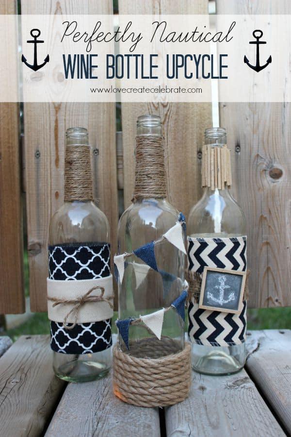 Nautical Wine Bottle Title