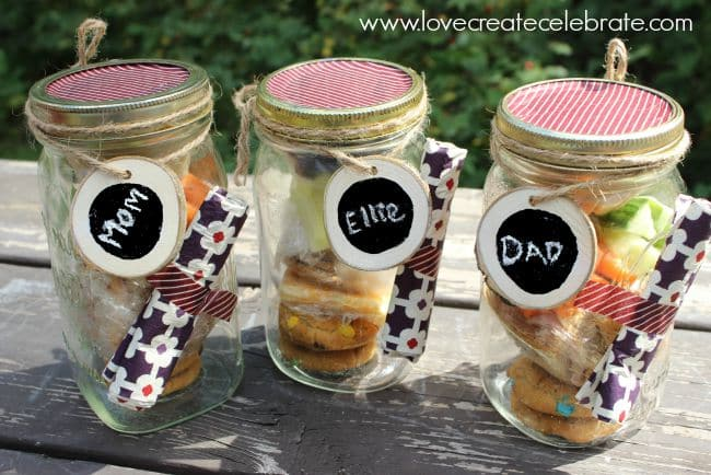 Three Mason Jars