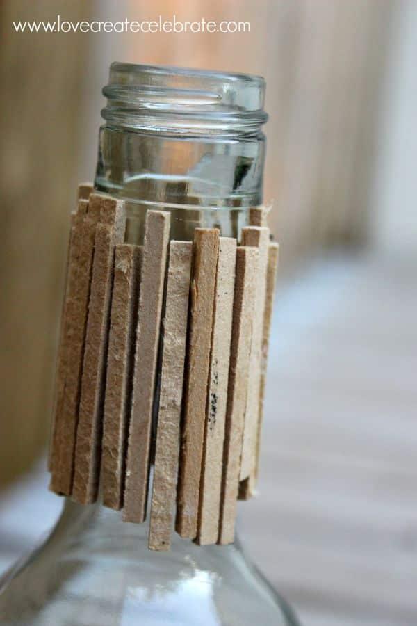 stick bottle top