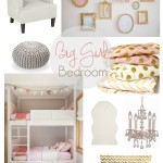 One Room Challenge {Week One}: Eclectic Big Girl Bedroom