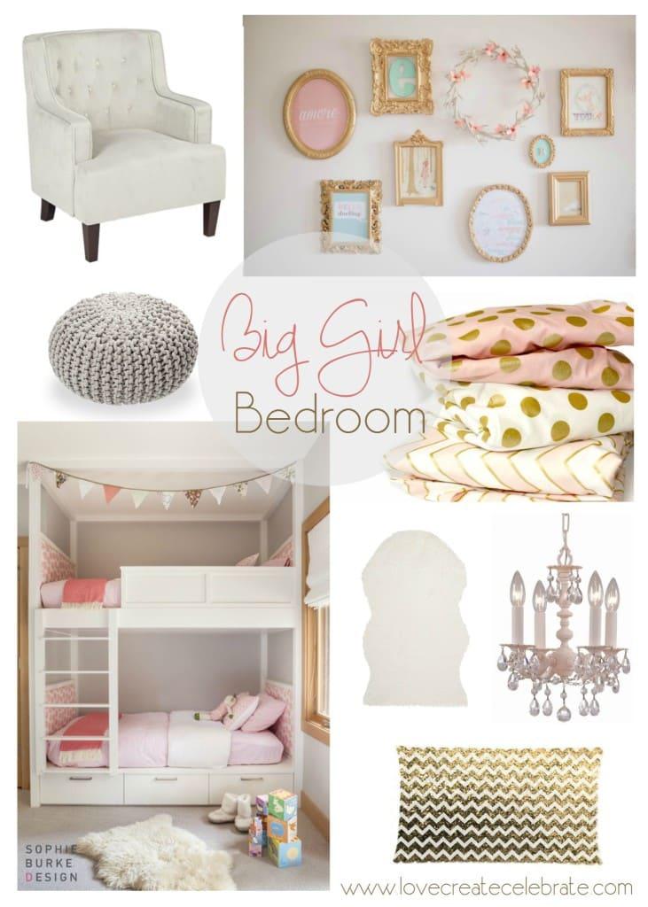 Big girl bedroom inspiration