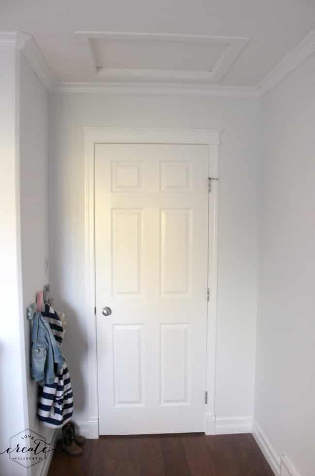 Crown Moulding Entry