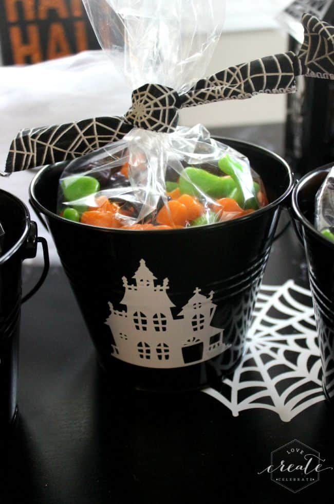 Haunted House Pail