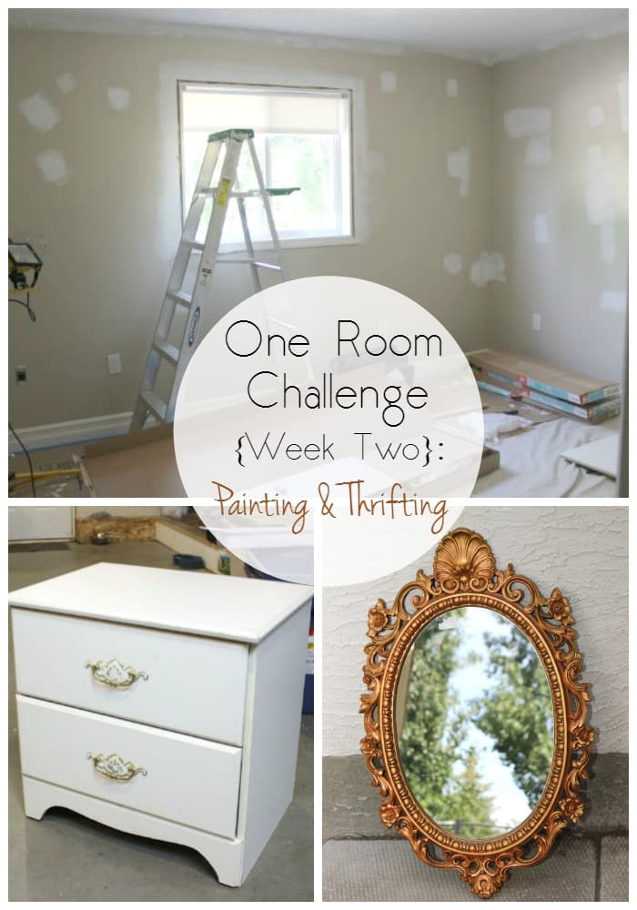 One Room Challenge Collage