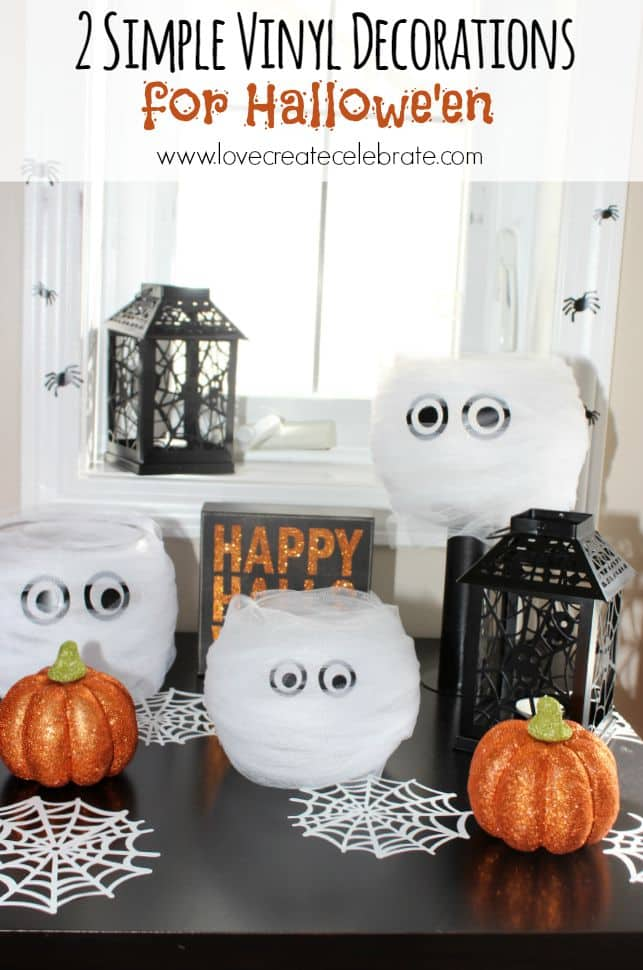 Vinyl Decorations for Halloween