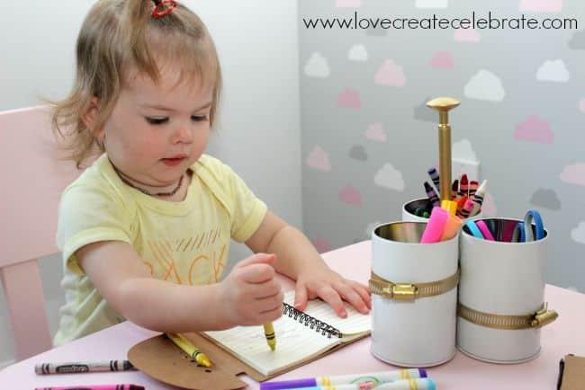 daughter art caddy