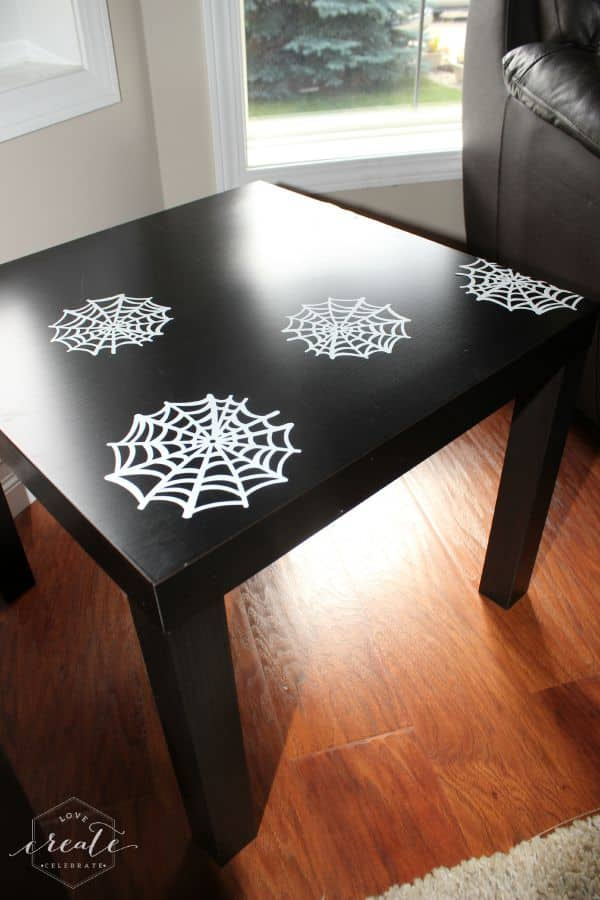 spider web table