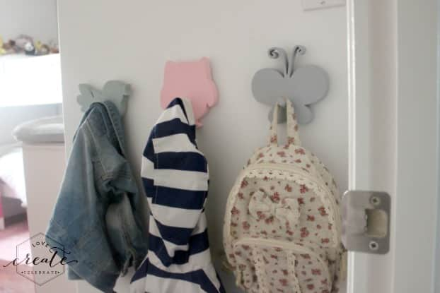 Girl Bedroom Hooks